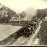 Różaneczniki docierały do Wojsławic pociągiem -  Niemcza, 1903 r.