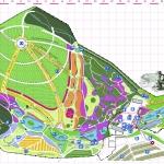 Mapa - Arboretum Wojsławice 2015