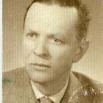 mgr inż. Andrzej Kuczyński - pierwszy, powojenny administrator majątku Wojsławice, 1946 r.