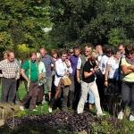 Festiwal Traw i Kwiatów Jesieni - oprowadza inspektor Arboretum, Hanna Nowak, Wojsławice 29 IX.2011