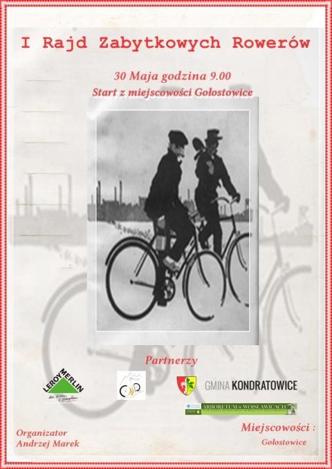 I Rajd Zabytkowych Rowerów – 30 maja 2013 r.