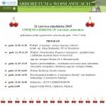 Program I Święto Czereśni 2015