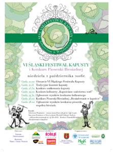 VI Śląski Festiwal Kapusty i Konkurs Piosenki Biesiadnej 2016