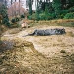 1 - Czyszczenie Stawu Dębowego po powodzi  -  2001 r., HGN