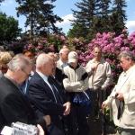 Wiosenny spacer z dy. Ogrodu Botanicznego, prof. Tomaszem Nowakiem - Wojsławice 2004, DK