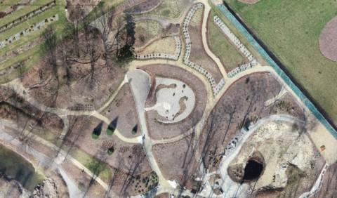 Ortofotomapa dla Arboretum Wojsławice